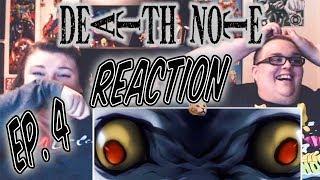 """Death Note Episode 4 REACTION!! """"Pursuit"""""""