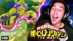 A STORY ABOUT A HERO!!| My Hero Academia: The Movie OP/Trailer 3 REACTION & REVIEW!