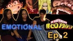 """?EMOTIONAL!!! My Hero Academia 1×2 """"What It Takes To Be a Hero"""" Family/Group Reaction"""
