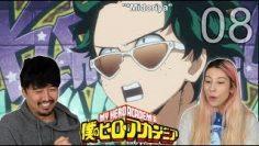 MIDORI SOUR : My Hero Academia Season 3 Episode 8 REACTION!