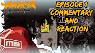 Megalo Box Episode 1 Commentary and Reaction