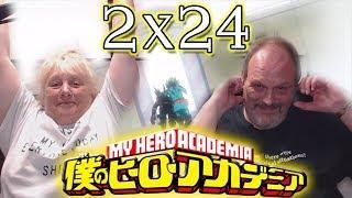My Parents React to My Hero Academia   2×24   ENGLISH DUB  