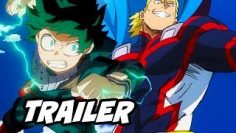 My Hero Academia Movie Trailer and Review – All Might and Midoriya Plus Ultra