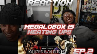 Megalo Box Episode 2 Reaction!! Junk Dog Vs Yuri !!!!!