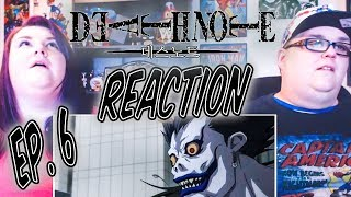 "Death Note Episode 6 REACTION!! ""Unraveling"""