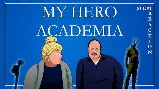 My Parents React to My Hero Academia | Episode 1 | ENGLISH DUB |
