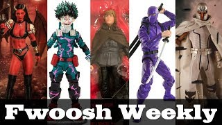 Weekly! Ep123: Star Wars, My Hero Academia, Plunderlings, Dinosaurs, Ninjas, Mezco, TMNT, more!
