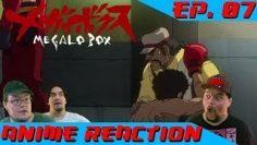 Anime Reaction: Megalo Box Ep. 07