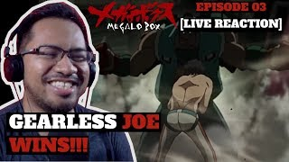 MEGALO BOX: Episode 3 – Mech Boy Genius [LIVE REACTION]