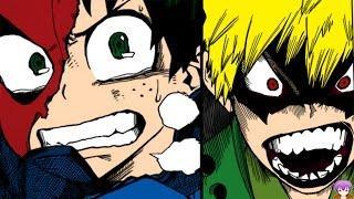 Boku no Hero Academia Chapter 8 僕のヒーローアカデミア Manga Review – Bakugou vs Deku Izuku