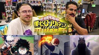 My Hero Academia: HEROES RISING Trailer REACTION! REACTING TO HEROES RISING MOVIE TRAILER