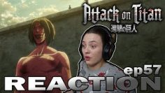 Attack on Titan S03 E20 (Episode 57) Reaction | That Day