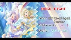 Revue Starlight ReLIVE [EN] – Bossfight [5☆ White-winged Jester – White Day Event Boss]