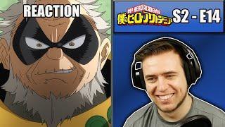 Rich Reaction – My Hero Academia Season 2 Episode 14 – Bizarre! Gran Torino Appears