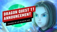 Dragon Quest 11 S: Echoes of an Elusive Age Trailer – Nintendo Direct