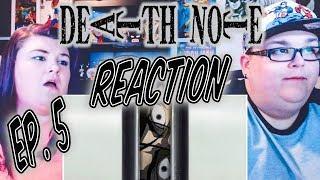 """Death Note Episode 5 REACTION!! """"Tactics"""""""