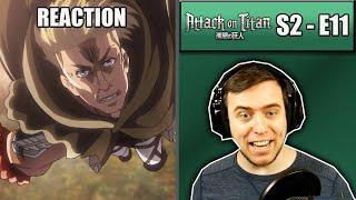 Rich Reaction – Attack On Titan Season 2 Episode 11 – Erwin Is Crazy!