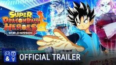 SUPER DRAGON BALL HEROES WORLD MISSION – Free Update Trailer