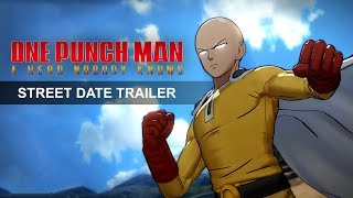 ONE PUNCH MAN: A HERO NOBODY KNOWS – Release Date Announce Trailer