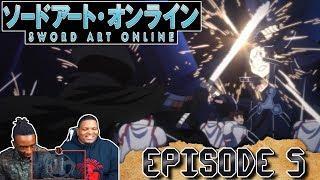 BATTLE FOR KIRITO'S LIFE!? Sword Art Online: Alicization – Episode 5 | Reaction
