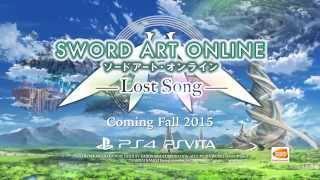 Sword Art Online: Lost Song – E3 2015 Trailer