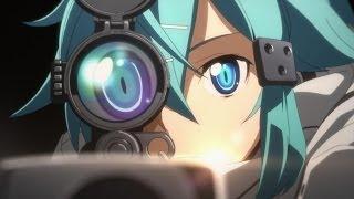 Sword Art Online Season 2 Trailer (Phantom Bullet)