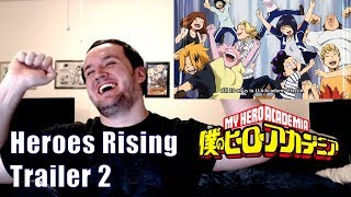 My Hero Academia, Heroes Rising – Trailer 2 Reaction