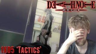 Death Note Episode 5 – 'Tactics' Reaction