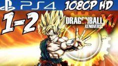 Dragon Ball Xenoverse Walkthrough Part 1 Gameplay Let's Play PS4 Playthrough Review 1080p HD