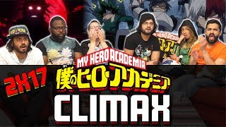 My Hero Academia – 2×17 Climax – Group Reaction