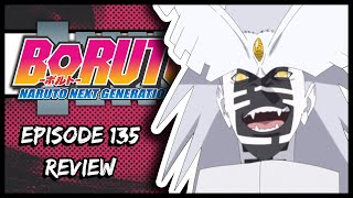 URASHIKI'S TRANSFORMATION!! (FINAL TIME TRAVEL ARC BATTLE) || Boruto Episode 135 Review