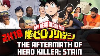 My Hero Academia – 2×18 The Aftermath of Hero Killer: Stain – Group Reaction