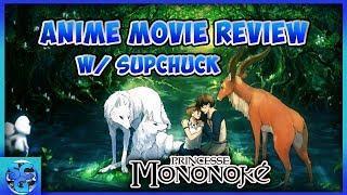 Princess Mononoke   Anime Movie Review   SupChuckGaming