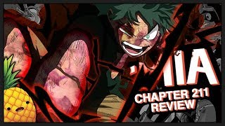 An Uncontrollable Power, Or Is It? Dark Full Cowling?! My Hero Academia Chapter 211 Manga Review