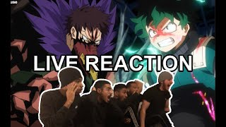 DEKU VS OVERHAUL  – MY HERO ACADEMIA S04 EP12 – LIVE REACTION FR