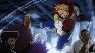 LEMILLION VS OVERHAUL THE GREATEST !! My Hero Academia Reaction ( Episode 74 season 4)