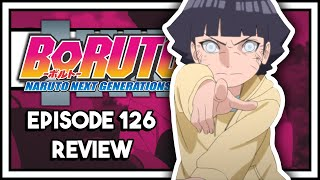 Will Himawari Be The Strongest Hyuga Ever?? || Boruto Episode 126 Review