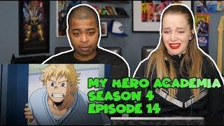 "My Hero Academia Season 4 Episode 14 ""Bright Future"" (Jane and JV's REACTION ?)"