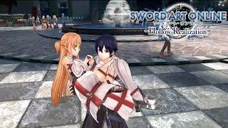 Sword Art Online: Hollow Realization – Save this World Trailer   PS4, Vita