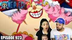 THE BIG MOM PIRATES ARE HERE! One Piece Episode 923 REACTION!!!