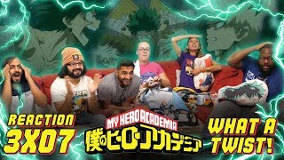 My Hero Academia – 3×7 What a Twist! – Group Reaction