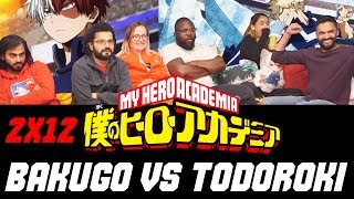 My Hero Academia – 2×12 Bakugo vs Todoroki – Group Reaction