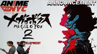 Anime NYC: MEGALO BOX SEASON 2 ANNOUNCED!