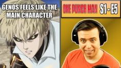 IS GENOS THE MAIN CHARACTER? – One Punch Man Episode 5 – Rich Reaction