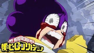 Final Exam: Mineta and Sero vs Midnight | My Hero Academia