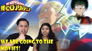 My Hero Academia: Two Heroes Trailer Reaction and Review (2018) Boku no Hero Academia the Movie!