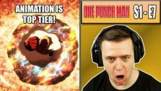 THE FIGHT SCENES IN THIS SHOW ARE SO GOOD! – One Punch Man Episode 7 – Rich Reaction