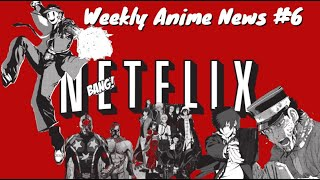 Weekly Anime News #6 |Fire Force | Dragon's Dogma |Kabaneri of the Iron Fortress| Psycho-Pass ,ETC