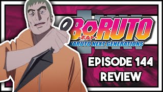 THIS ARC JUST GOT WAY BETTER!!    Boruto Episode 144 Review