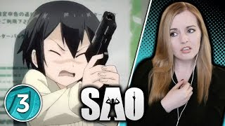 Memories of Blood – Sword Art Online 2 Episode 3 Reaction | Suzy Lu Reacts